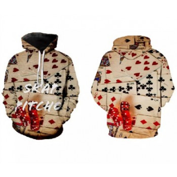 Playing card's hoodie