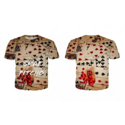 Playing card T-SHIRT SKAP PITCHO