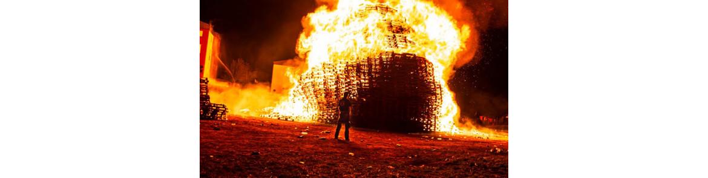 Loyalist Corcrain Redmanville Bonfire - LCR